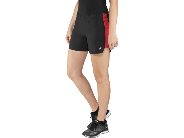 "asics 5,5"" Shorts Spodenki do biegania Kobiety Mugen Pack czarny"